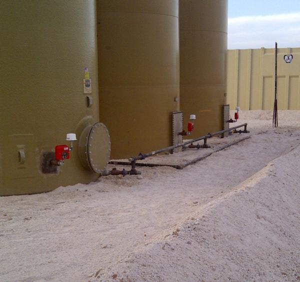 Wireless Tank Level Monitoring