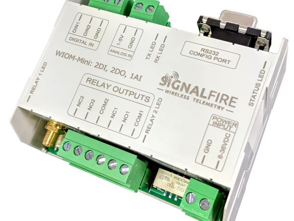 SignalFire Introduces the Mini Wireless I/O Module for Remote Monitoring and On/Off Automation